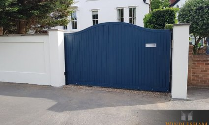 S-Top Timber Sliding Electric Gate